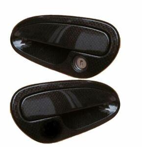 Reproduction Black Carbon Fiber Door Handle Set 2004-2006 Pontiac GTO