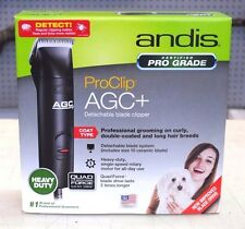 NEW!! Andis ProClip AGC+ PLUS 23835 Detachable Blade Clipper Heavy Duty, 1 Speed