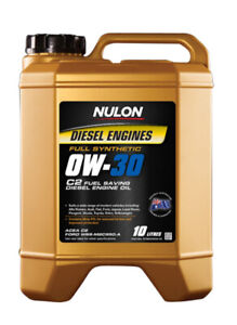 Nulon Full Synthetic Diesel Fuel Conserving Engine Oil 0W-30 10L