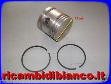 Fiat 682 N3/N4 -BUS 306 / Pistone Nudo + 2 Fascia Compressore Marelli -