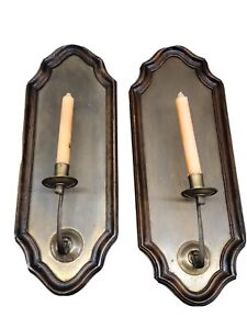 Vintage Florentia Italian Wall Candle Sconce -Gallery #67