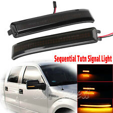 Sequential LED Side Mirror Turn Signal Light for Ford F-150 F150 Raptor 09-14