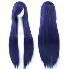 "32"" Multicolor Cosplay Wig Women Long Straight Party Wigs Hairpiece Headwear"