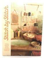 STITCH BY STITCH Encyclopedia Vol 3 Learn Sewing Knit Crochet Hardcover Book
