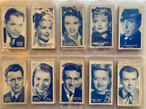 Original 1949 Turf Slide Issue (Carreras) cigarette cards (A2) - Captain Blood