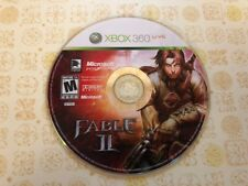 Fable II (Microsoft Xbox 360, 2008) - DISC ONLY