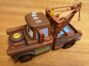 Disney Pixar - Tow Mater Talking Toy - Mattel Brown Vehicle Truck