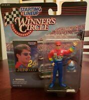 STARTING LINEUP 1997 NASCAR JEFF GORDON FIGURE DUPONT WINNERS CIRCLE NEW