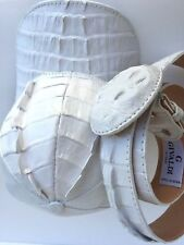 ALLIGATOR SKIN HAT& BELT,(WE SHIP ALL OVER EUROPE)(LUXURY)GIVALDI OF ITALY= 7021