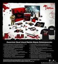Dead Island Riptide Collector's Edition PC NEW SEALED POLISH EXCLUSIVE