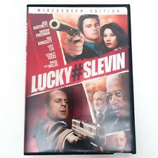 Lucky Number Slevin (2006 film) Widescreen Edition DVD. Pre-owned.