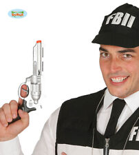 Police Fancy Dress Toy Pistol FBI hand Gun 28cm New fg