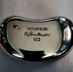 Genuine Tiffany & Co Elsa Peretti Large Bean Torque Choker/Necklace 925 Silver