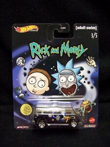 Hot Wheels Rick & Morty Super Van.