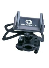 Cell Phone Bike Mount, Shackle Universal Cradle Clamp for iOS Android Smartphone