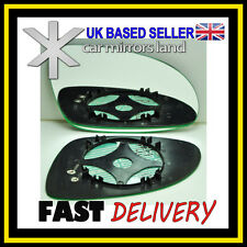 Right Driver Side Wing Mirror Glass HEATED  VW Golf 5 MK5 2003-2008
