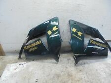 2004 Kawasaki ZX 10 R ZX10R ZX 1000 LEFT& RIGHT SIDE FAIRINGS FAIRING