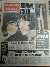 MELODY MAKER MAY 28  1966 SONNY & CHER COVER TROGGS WHO STONES