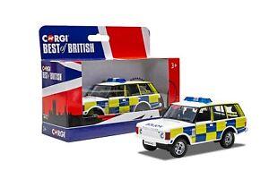 CORGI BEST OF BRITISH RANGE ROVER POLICE GS85929
