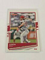 2020 Donruss Baseball Base Card - Aaron Nola - Philadelphia Phillies