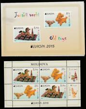 MOLDOVA 2015 EUROPA CEPT OLD TOYS Mi.MH20 MNH BOOKLET