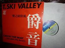 "Maxi 12"", T. Ski Valley Catch the beat, Boogie Disco Rap 1984 33RPM,  Holland"