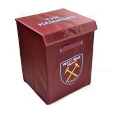OFFICIAL WEST HAM UNITED FABRIC STORAGE TOY LAUNDRY BOX FOLDABLE
