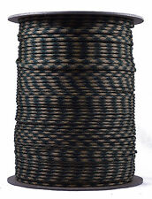 Woodland Camo - 550 Paracord Rope 7 strand Parachute Cord - 1000 Foot Spool