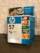HP 57 TriColor Ink Cartridge NEW GENUINE HP Sealed in original box