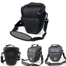 For NIKON D7000 D5100 D800 D3000 D80 SLR DSLR Camera Shoulder Bag Carry Case U75
