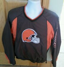 Cleveland Browns NFL YOUTH SZ LARGE 14-16 SEWN LINED Pullover JACKET