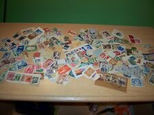 50 GRAMS OF WORLD KILOWARE FROM CHARITY UNSORTED WITH UNFRANKED STAMPS LAST LOT