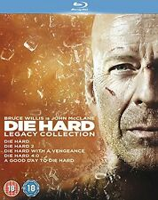 Die Hard: 1-5 Legacy Collection - Blu-ray Region B