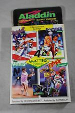 Quattro Sports (Nintendo NES) Complete in Box MINT Aladdin