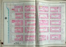 1909 G.W. Bromley, P.S. 172, Spanish Harlem, Manhattan, Ny Plat Atlas Map 23X32