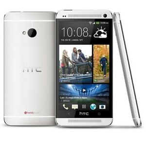 HTC One M7 32GB Silver Google Play Edition Android GSM Unlocked AT&T T-Mobile