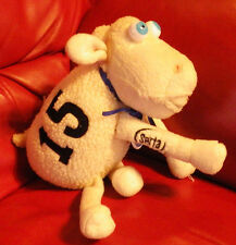 "Curto Serta Mattress Counting Sheep #15 7"" Tall Stuffed Animal Plush Toy"