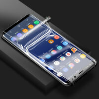 TPU Screen Protector Film For Samsung Galaxy Note 9 8 10 S7 edge S8 S9 S10 Plus