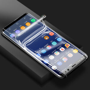 TPU Screen Protector Film For Samsung Galaxy S6 S7 edge S8 S9 Plus Note 8 7 FE