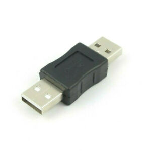 New 1 Pack USB 2.0 A Male to USB A Male Adapter Converter Extender Coupler
