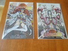 Shi: The Illustrated Warrior #1 & #3; Crusade Lot of 2