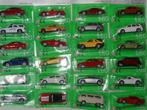 NEW Welly Die cast Cars BLISTER IV 1:60 1:64 Various Models Multiple listing New