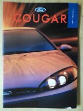 FORD COUGAR orig 1998 UK Mkt Sales Brochure - 2.0i 2.5i V6