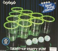 Buzzy Adult Party BeerPong Drinking Game Glows Popular College Alchohol