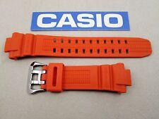 Genuine Casio G-Shock GW-3000M GW-3000M-4 resin rubber watch band strap orange
