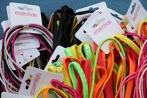 Headband Sets Elastic x 50 Job Lot Car Boot Hair Accessory Various Colour/Design
