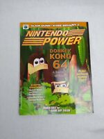 Nintendo Power Donkey Kong 64 Vol 126 Includes Kobe Bryant Poster & PKM Comic