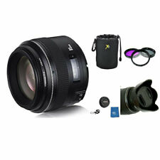 YONGNUO YN85mm 85mm F1.8 Lens Kit for Nikon D5600 D3500 D7500 D810 W/ filters +