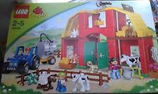 LEGO DUPLO-5649-LA GRANDE FERME LAITIERE AVEC TRACTEUR-2/5ANS-SUPERBE NEUVE !