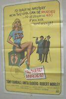 Filmplakat,THE ALPHABET MURDERS,TONY RENDALL,ANITTA EKBERG #53
